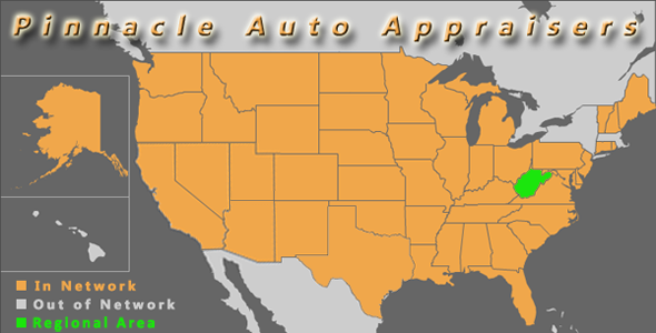 map west virginia pinnacle auto appraiser appraisal dimished value